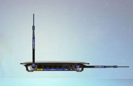 Antenas del router